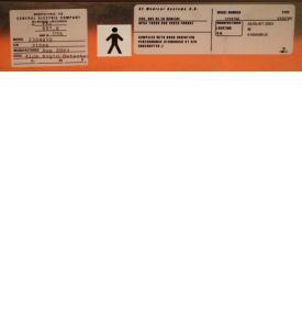 Detector 41cm Angio GE Innova 4100 Cath Angio Lab 2329766 / 2304879